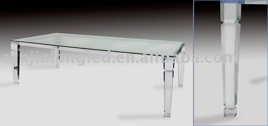 Acrylic dining table/Twin Butterfly- Victory Chair