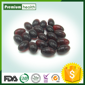 GMP Certified 500mg/1000mg Black currant seed oil Softgel Capsule in bottles or blister card