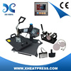 Hot Sale 5 in 1 Cheap Used T Shirt Combo Heat Press Machine