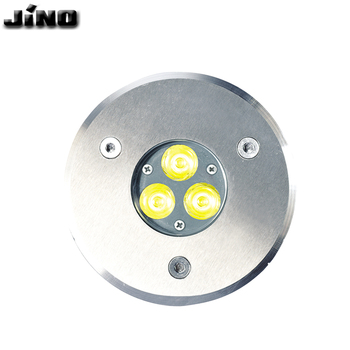 Outdoor waterproof IP65 3W RGB led Fixed Buried Light garden led underground lamp