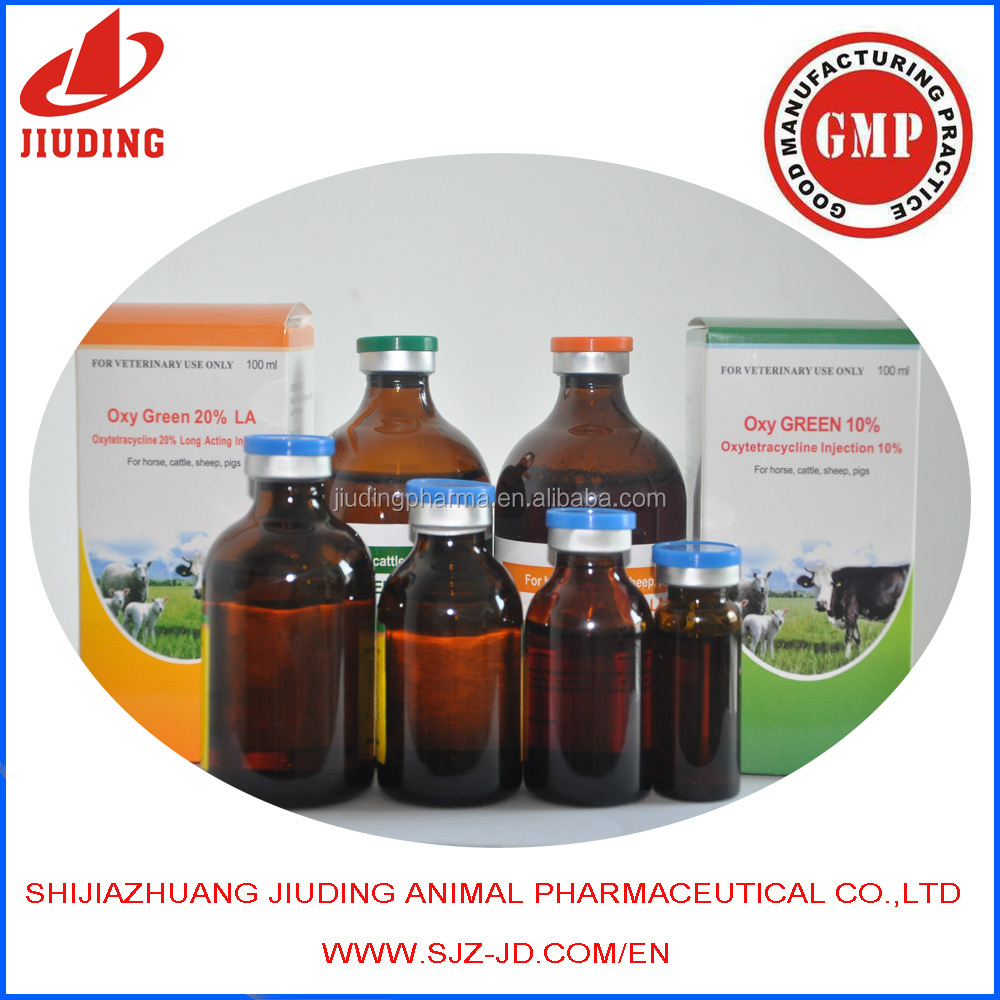 Veterinary manufacturers Closantel Sodium Injection 5% of pharmaceutical medicine