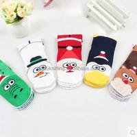 OEM cheap Custom high quality fashion cartoon knitted novelty teens Sock