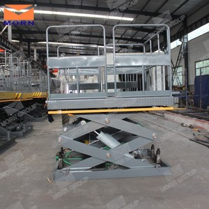 5 ton hydraulic stationary scissor lift