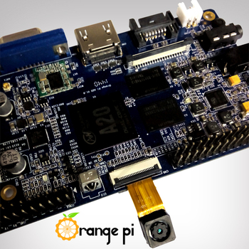IP wide-angle lens camera intelligent home control devices for orange pi plus
