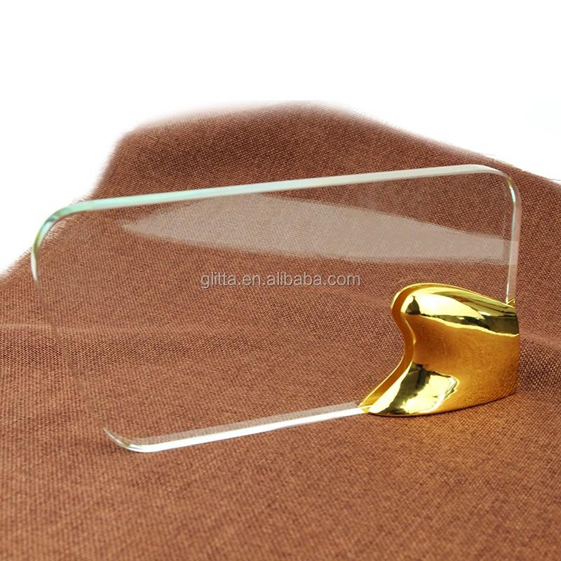 Glitta K9 elegent klar leere kristall-trophäe, benutzerdefinierte kristallglas auszeichnungen trophäe WT032Großhandel, Hersteller, Herstellungs