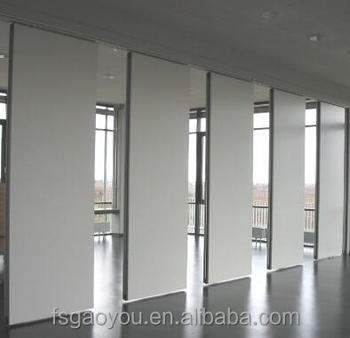 Restaurant Acoustic Room Dividers Office Movable Screens Sliding Panels