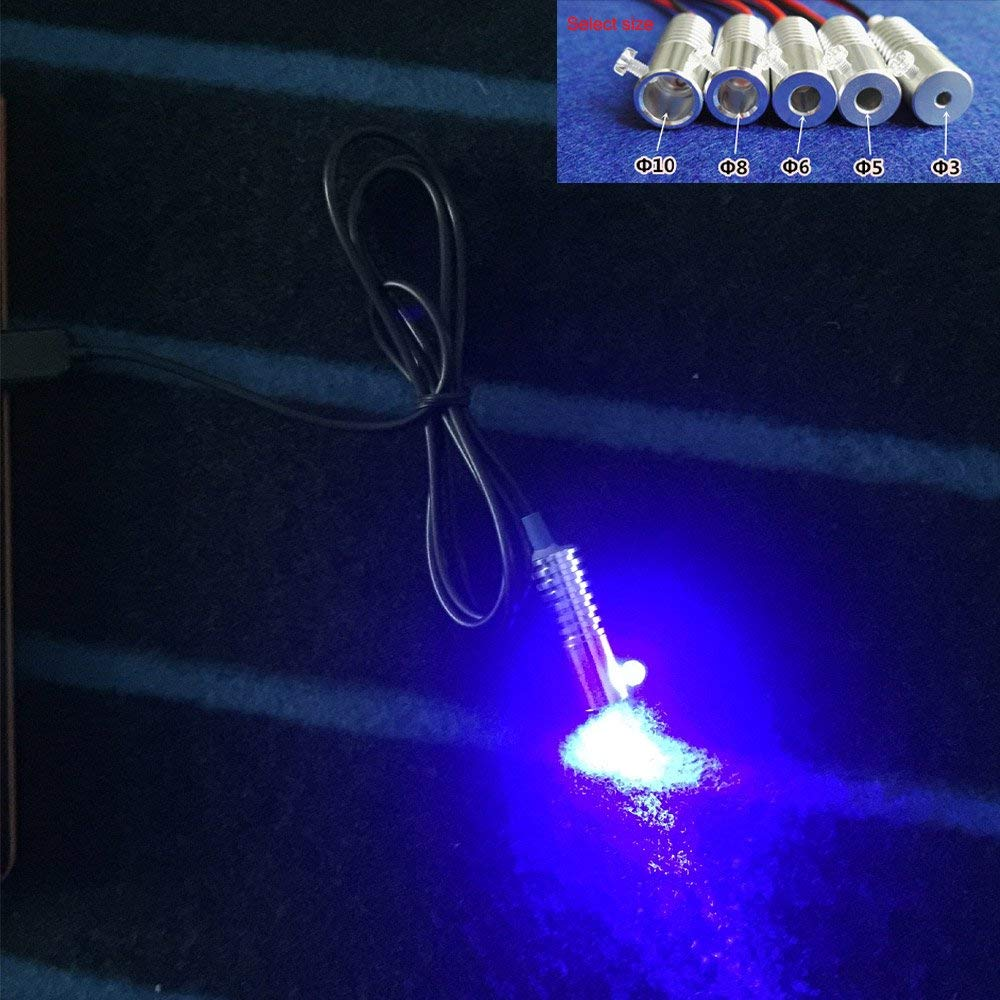 12V Colorful Change Car Home PMMA Side Glow Fiber Optic Light Source illuminator