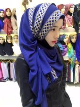 AMESIN YM08 china wholesale merchandise chiffon muslim hijab shawl scarf