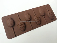 Silicone chocolate lollipop moulds Cake pop molds chocolate mold