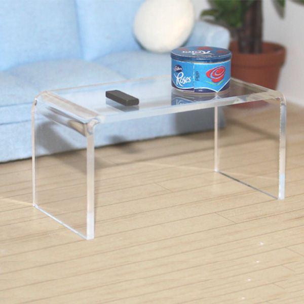 Modern Design Clear Acrylic Coffee Table Plexiglass End Table