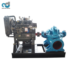 Horizontal 400m3/h Flow Diesel Motor Water Pump for Irrigation