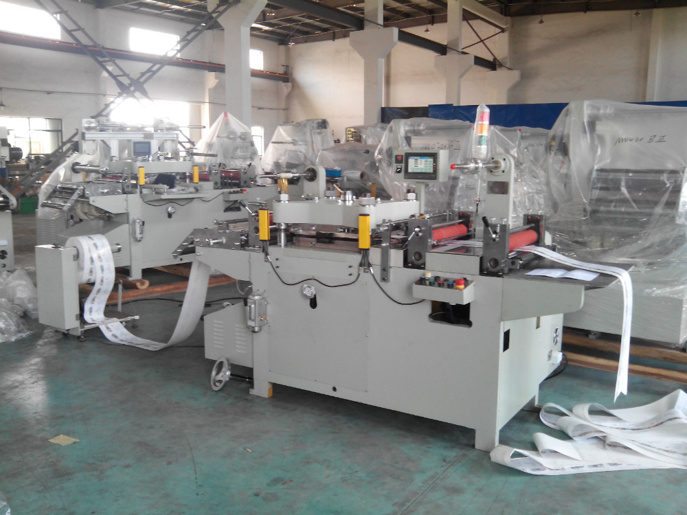 Adhesive Label And Film Hot Foil Stamping Machine