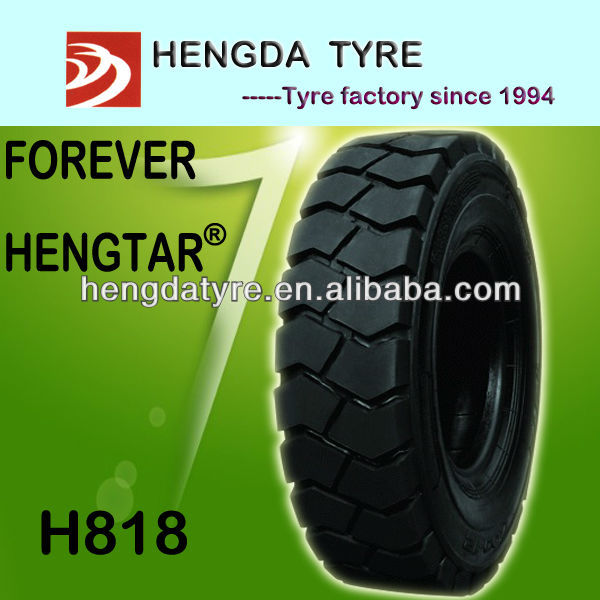 Chinese forklift tyre 27x10-12 industrial forklift tyre