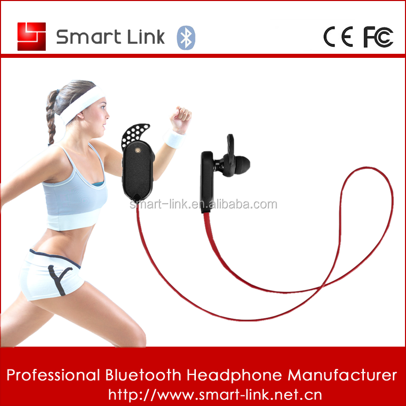 2015 Top selling bluetooth headphone in ear with plastic case