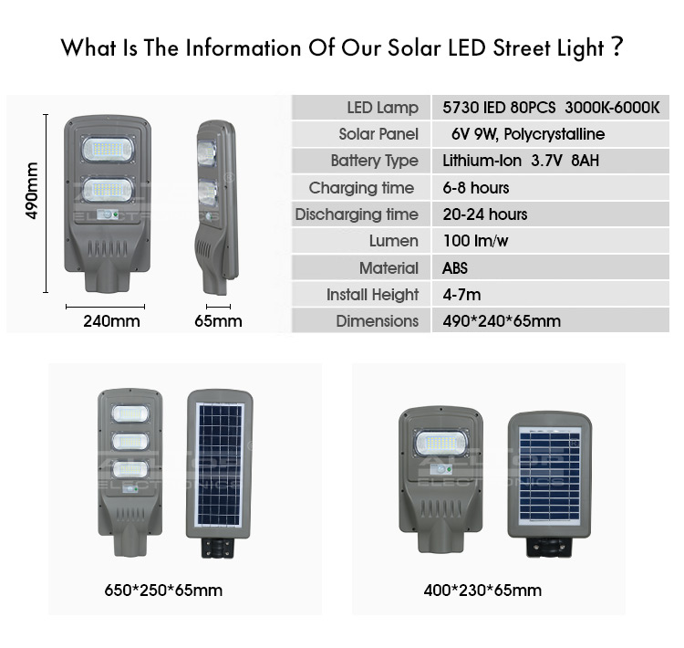 outdoor integrated street light best quality manufacturer-5