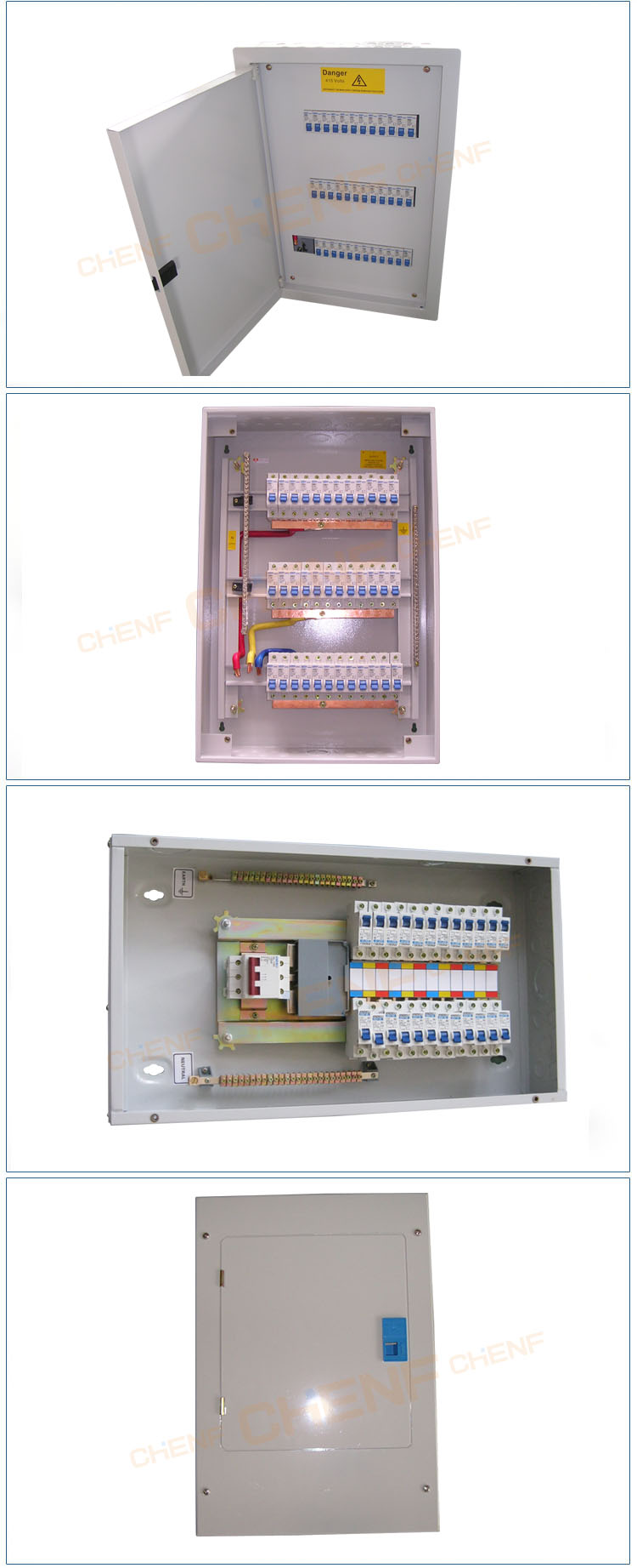 Customized Concealed Installation Waterproof Metal Miniature Circuit Distribution Enclosure Box Breaker Panel Board Boxes