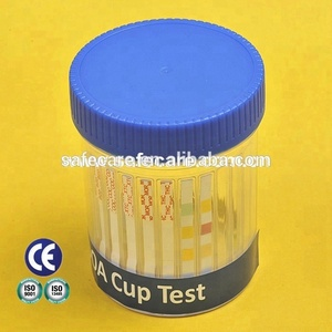 Urine Drug Testing 16 DOA Cup - Tests THC, OXY, COC, HEROIN, 6 MAM, MDMA (ecstasy)