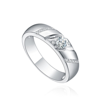 low cost China gemstone ring platinum ring price in india