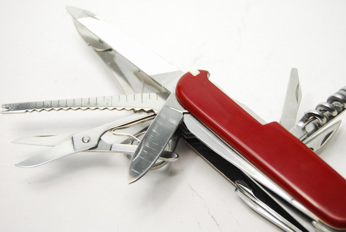 Swiss Army Folding Knife Multi Tool Free Shipping Worldwide