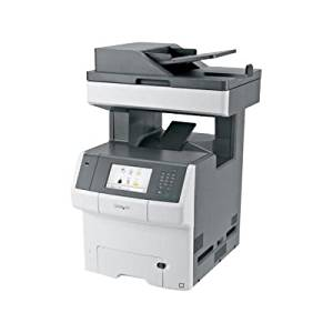 Lexmark X748DE Laser Multifunction Printer - Color - Plain Paper Print - Desktop
