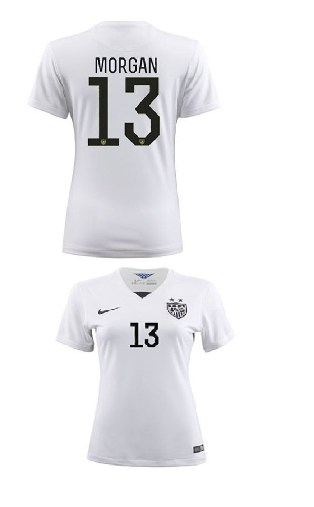 d5da3412b Buy  13 MORGAN USA Women  39 s Away 2015 World Cup Soccer Kid Jersey ...