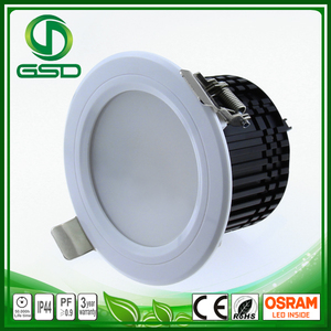 Geshide New cheap high quality Epistar dimmable 5w 7w 9w 12w led downlight ceiling lamp with remote control CE ROHS