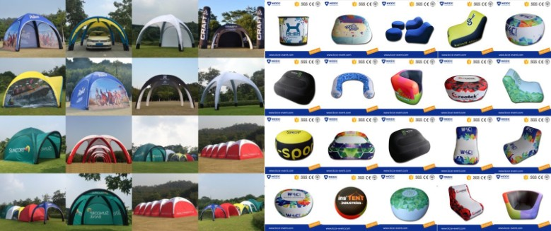 Outdoor car trade show air tent, car display canopy tent