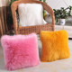 plush soft cheap faux fur cushion sexy fur pillow cases