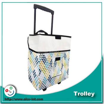 2 Wheels Storage Organizer Cart Craft Trolley For Scrapbook