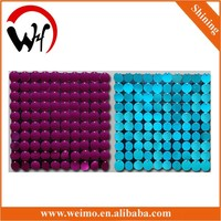 ceiling/wall sequin panel decoration clothes stores