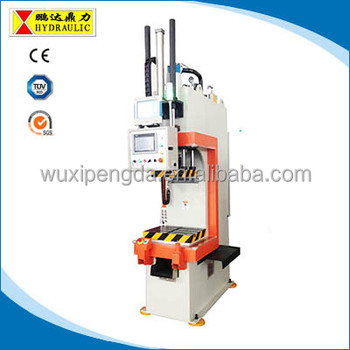 YPSK-20T C frame hydraulic press servo press with good precision good  speed, View C frame hydraulic press, Pengda Product Details from Wuxi  Pengda