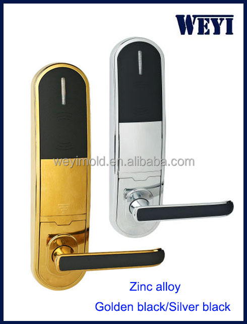 Manufacturer nfc card digital door lock for hotel, RF hotel lock system
