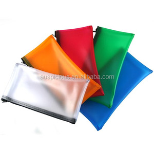 latest pencil plastic zipper bag pvc/eva ziplock bag