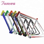 "Funsea OEM ODM wholesale high quality alloy 6061# racing road bicycle frame 700c""*19"" road bike frame"