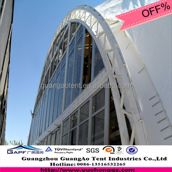 modern design tube truss steel structure dinning room building SST-04