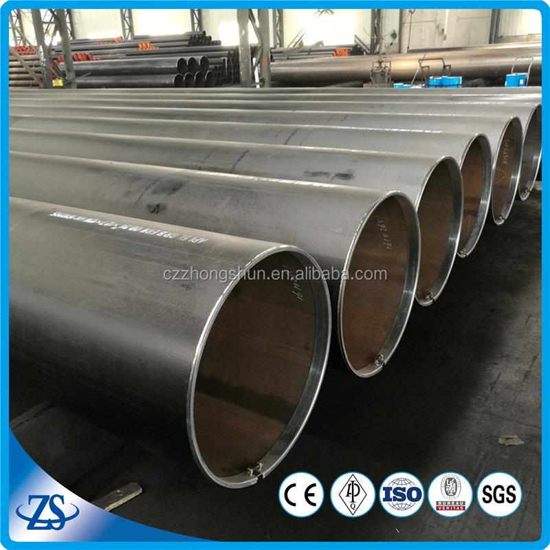 "nps 18"""" sch40 10 inch thick wall water steel pipe with structural tubes"