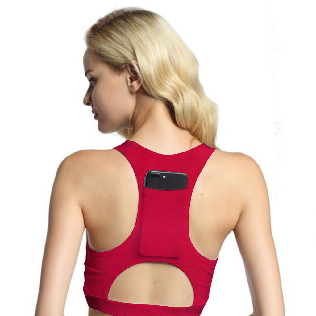 5fbf8f890f1 2019 Hot Sale Women Workout Stretch Tank Top Yoga Padded Vest Sport Bra  Tops Fitness Ladies Sports Bra Comfortable Underwear#es From Ahaheng,  &Price; ...