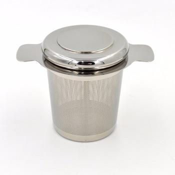 Stainless Steel 304 Fine Mesh Round Filter Tea Strainer
