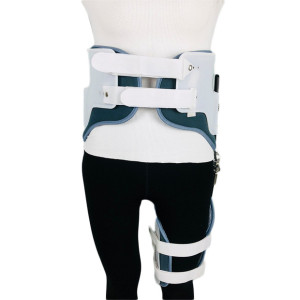 medical correction deformity adjustable hip joint knee foot fixed protective device lower limb support knee orthosis