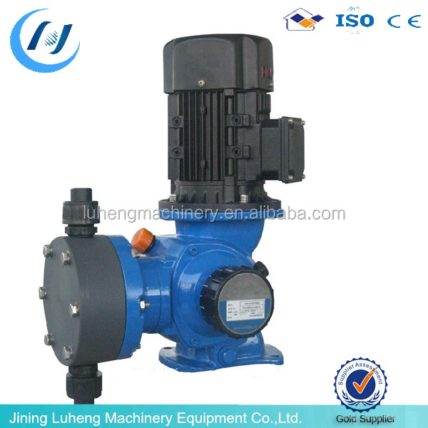 PTFE head diaphragm chemical dosing pump with certification ( skype: luhengMISS)