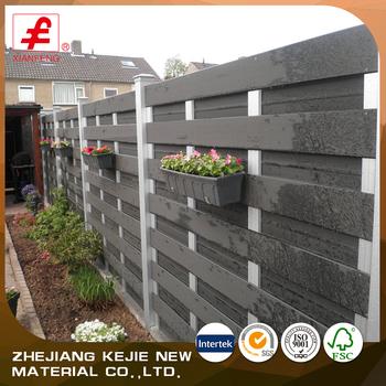 Recinzioni Per Giardino Casa.Casa Di Plastica Di Sicurezza Durevole Di Legno Privacy Wpc