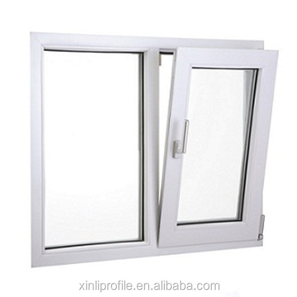 Profile UPVC Windows Pictures, PVC Awning Windows Design