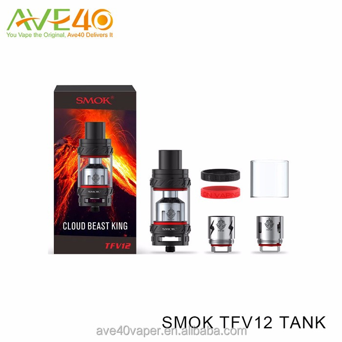 Ave40 NEW Product Smok TFV12 tank Cloud Beat King VS Smok TFV8