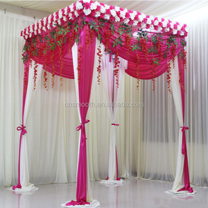 Universal Used Wedding Decoration Backdrop Square Pipe And Drape For Sale