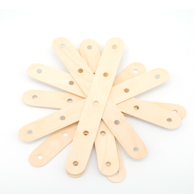 White birch round popsicle wooden craft stick
