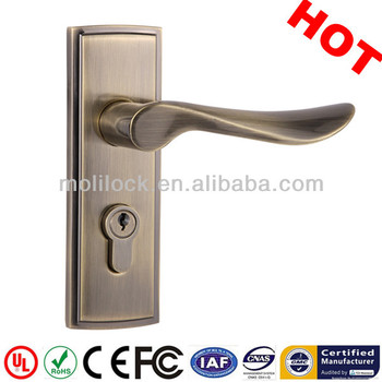 aluminium room door handle door lock type shower room handle lock