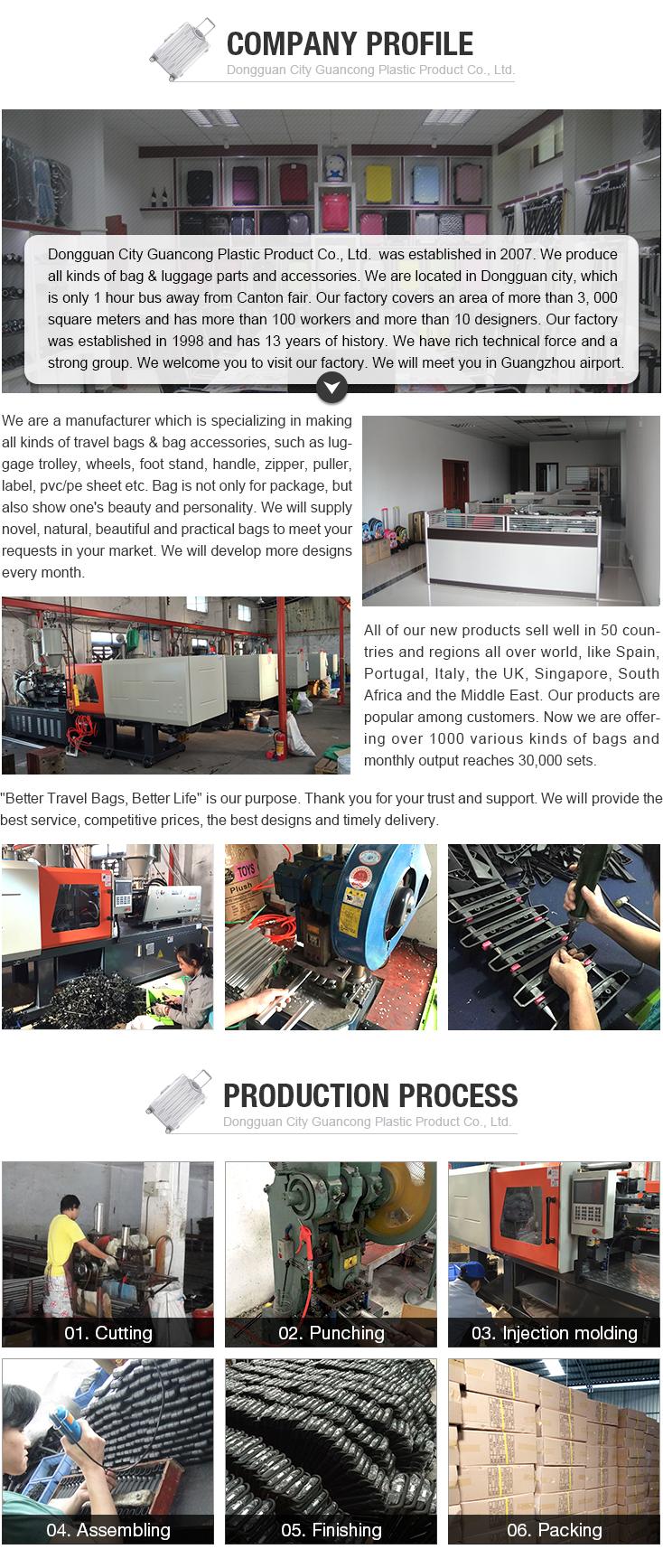 China goedkope plastic bagage band handvat factory