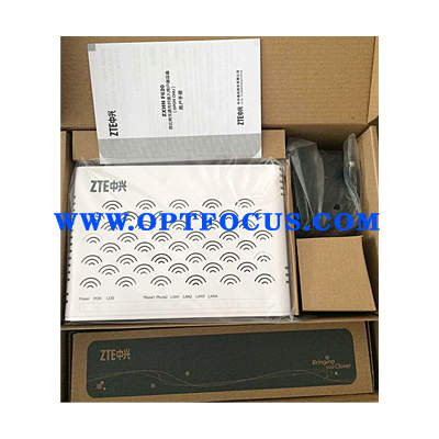 High quality 2 GE ethernet port ZTE GPON ONU H.248 protocol