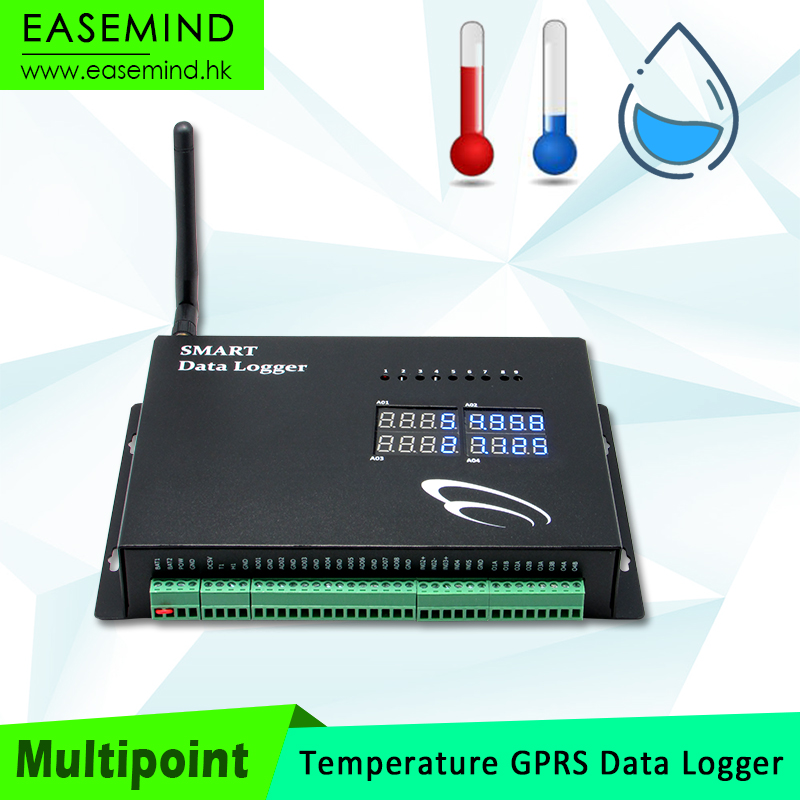 Multipoint Temperature GPRS multi-channel data logger flow <strong>meter</strong>
