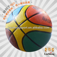 Perfect!!! Colorful rubber basketball size 3 Factory Direct Suuply Low Price
